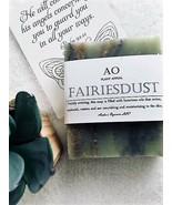 Organic Fairies Dust Nature Perfumed Bar Luxury Handcrafted Soap VEGAN A... - $4.00