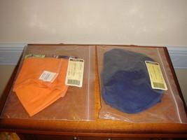 Longaberger 2004 Happy Halloween Liners Orange And Indigo - $16.99
