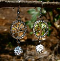 Haunted Goddess Selen Beauty RARE earrings BE sparkly and beautiful  - $22.50