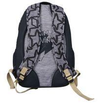 """Brand New Cat & Jack  18"""" Kids' Backpack - Black/Grey Star image 4"""
