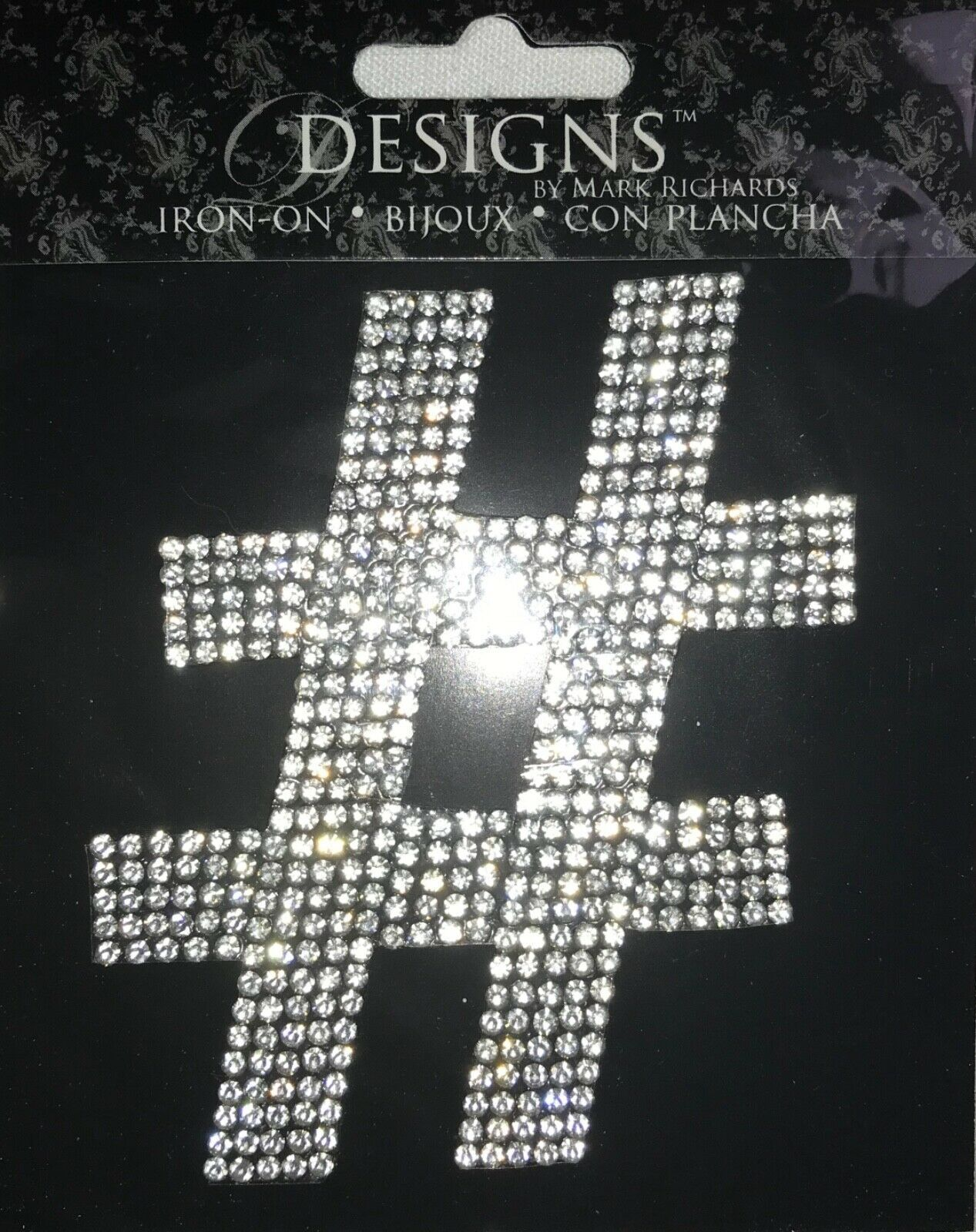 "Primary image for Rhinestone Monogram 3.5"" Letter Iron-Ons by Designs by Mark Richards"