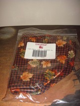 "Longaberger Liner Maple Leaf Fall Gingham SU 23957 Maple Leaf ~ 7"" Measuring, - $10.99"