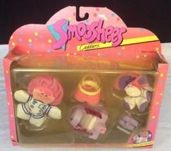 #6134 Vintage Fisher Price Smooshees Cuddlers J... - $62.32