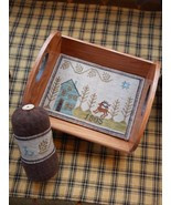 Piney Woods Tray & Pyn Keep cross stitch chart by Chessie & Me   - $10.80