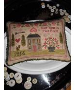 Keep Home In Your Heart cross stitch chart by Chessie & Me   - $10.80