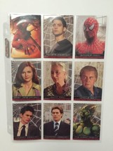 ✅Spider-Man Movie Cards Topps 2002 Complete Set +*✅3 Chase Sets✅*RARE MUST HAVE* - $109.99