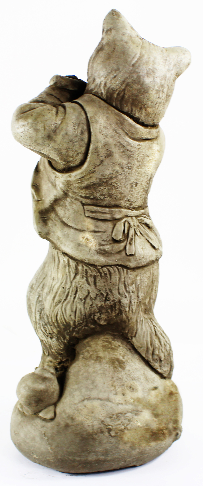 Cat Statue with Flute