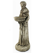 Saint Francis with Bowl Concrete Statue  - $192.00