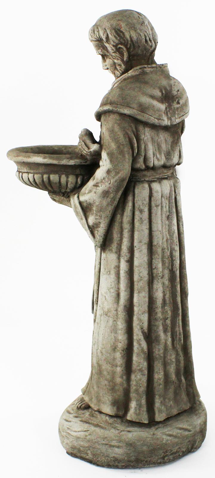 Saint Francis with Bowl Concrete Statue