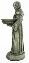 Saint Francis with Bowl Concrete Statue  - $198.00