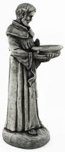 Saint Francis with Bowl Concrete Statue  - $198.00