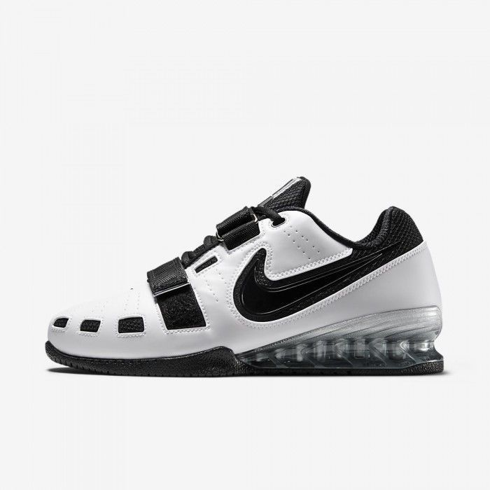 online store 18fbc 1ffa6 Nike Romaleos 2 WHITE BLACK Weightlifting and 50 similar items