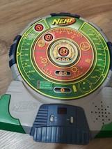 Nerf-N-Strike Green Tech Target Electronic Talking Dart Board 2003 Hasbro.. - $16.04