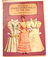 Antique Fashion Paper Dolls of the 1890s, Bosto... - $10.99