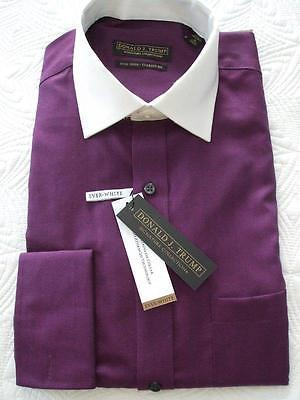 Donald j trump classic fit dress shirt size 15 32 33 nwt for Size 15 dress shirt