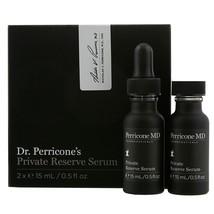 Perricone Md Private Reserve Serum 2 X .5 Oz Authentic +Orig Formula! (1) Dropper - $299.95