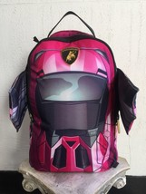 Unisex Sprayground Pink | Black Lambo Wings Backpack - $187.11