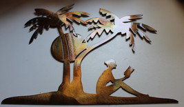 A Day in the Sun, Under the Palm Tree Metal Wall Decor - $22.99