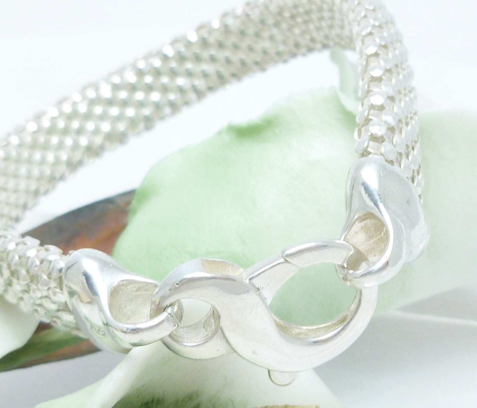 Sterling Silver Reflection Bracelet 7 inch