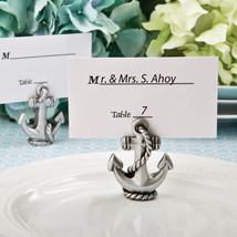 1 Anchor Place Card Holder Beach Theme Wedding Favor Party Event Nautical Gift - $4.93