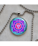 Kali Yantra Pendant Necklace - $14.85+