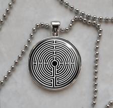 Labyrinth Greek mythology Pendant Necklace - $14.00+