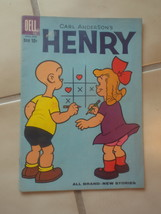 Vintage 1960's Carl Anderson's HENRY #61 Dell Comic Book  - $21.00