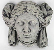 Garden Maiden Concrete Wall Plaque  - $59.00