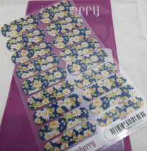 Jamberry Twilight Blossoms B113 Nail Wrap  (Full Sheet ) Retired Design - $16.82