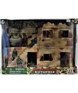 GI Joe Power Team Elite World Peacekeepers Battlefield Playset 1/18 3.7... - $128.69