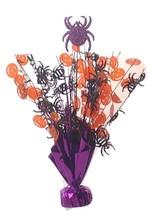"2 Halloween spider & pumpkins Balloon Weights 15"" tall centerpiece decoration - $9.85"
