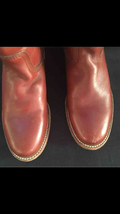 Burnt orange FRYE riding boots size 7. Perfect for the fall!!!  - $129.99