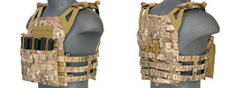 Lancer Tactical Jumpable Plate Carrier Vest w/ ... - $49.99