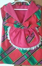 Pink, Purple, Green, Red, White, Black, Yellow Dress Clothespin Bag Hand... - $9.00