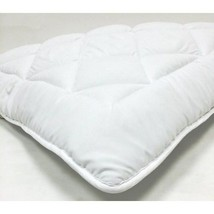 OLYMPIC QUEEN Down Alternative Mattress Topper / Pad With Anchor Straps - $45.95
