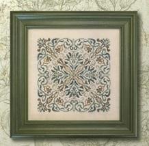 Forest Flower cross stitch chart Ink Circles  - $9.00