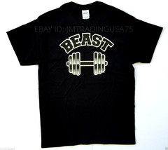 Beast black Funny T-Shirt Heavyweight Ultra cotton TShirt - $11.99