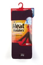New! Ladies Purple Heat Holders Winter Thermal Brushed Tog Rated Tights - $11.99