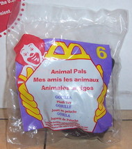 1997 Mcdonalds Happy Meal Toy Animal Pals #6 Gorilla MIP - $5.00
