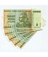 GENUINE ZIMBABWE 2008 20 BILLION MONEY BANKNOTE... - $11.74