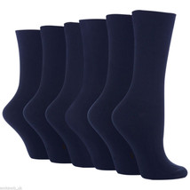6 Pairs Ladies Girls Cotton Missi School Socks by Sock Snob 4-8 uk, 37-4... - $10.65