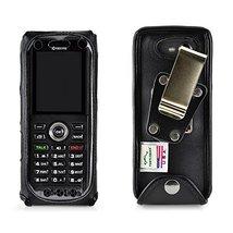 Turtleback Case Made for Kyocera DuraTR E4750 Phone Radio Black Leather ... - $37.99