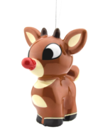 Hallmark Rudolph The Red-Nosed Reindeer Decoupage Christmas Ornament New... - $6.99