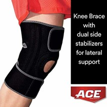 ACE Brand Knee Brace with Dual Side Stabilizers, America's Most Trusted ... - $23.34