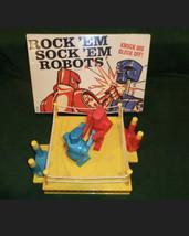 Rock'em Sock'em Robots 2014 Mattel Game with Box & Instructions - $16.82
