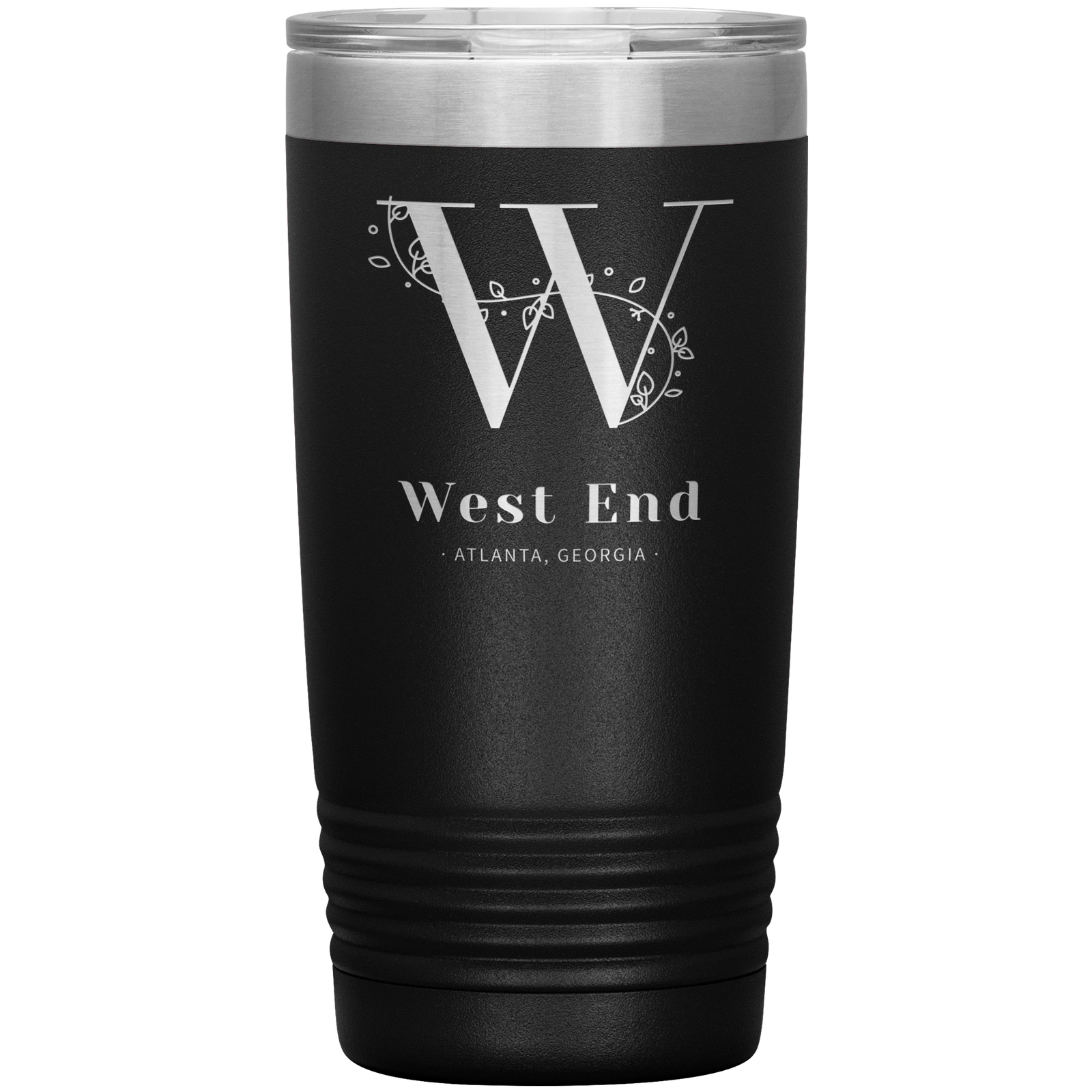 Primary image for West End Atlanta Double Wall Vacuum Insulated Stainless Steel Tumbler 20 OZ Lid