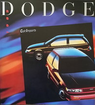 1989 Dodge COLT sales brochure catalog US 89 E GT Mitsubishi - $6.00