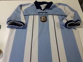 old retro repl soccer jersey  Argentina afa  Reebok Brand XXl aprox - $68.31