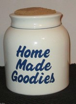"HOUSE OF LLYOD 1993 COOKIE JAR   ""HOME MADE COOKIES""  - $10.57"