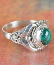 Namibian Malachite Gemstone Handmade Sterling S... - $12.99 - $14.99